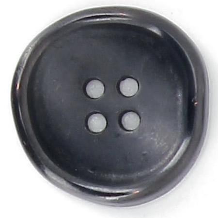 Bouton 4 trous métal bourrelet gondolé 15mm à 25mm