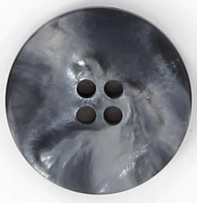 Bouton 4 trous plat poly jaspe 18mm à 27mm