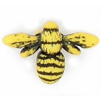 Boutons fantaisies abeille