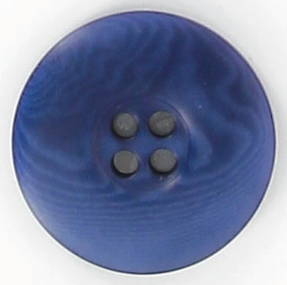 Bouton corozo bourrelet plat 4 trous 15mm à 30mm